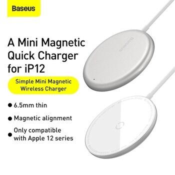 Магнитное Беспроводное зарядное устройство Baseus 15W