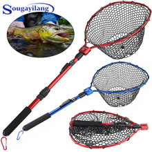 3-12Mesh With Float Fishing Net Fish Trap Monofilament Gill Small Mesh Hook 95