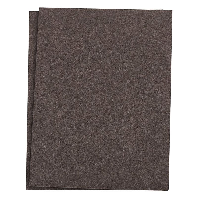 Self-Stick Furniture Felt Sheet For Hard Surfaces To Cut Into Any Shape (2 Pack)