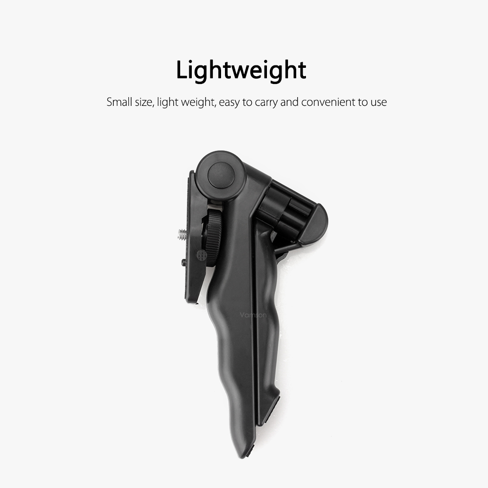 Vamson Tripods for Go Pro Accessories Camera Monopod phone bracket ripod  GoPro Hero 8 7 6 5 4 for Xiaomi for Yi Black  VP416