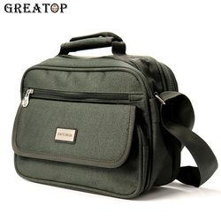 Greatop Multi-Pakket Business Mannen Messenger Bags Oxford Waterdichte Business Travel Crossbody Tassen Mannelijke Toevallige Handtas Y0027