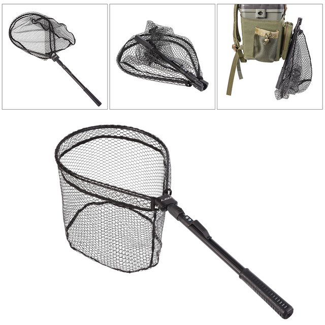 Best 100% Original Triangle Brazil Net Lixada Portable Fly Fishing Fishing Accessories cb5feb1b7314637725a2e7: style 1|style 2