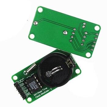 1302 moduł DS1302 moduł zegara rzeczywistego CR2032 zegar odczytu i zapisu bez baterii