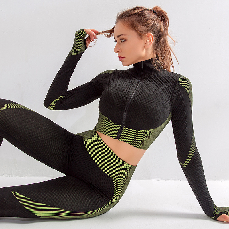 Suits yoga outfit  (22)