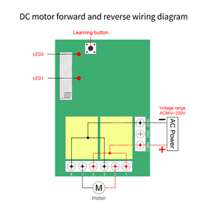 Image 5 - 433Mhz AC 110V 220V 2CH Relay Receiver Module Transmitter Universal Wireless Remote Control Switch for Motor Lamp LED Light DIY