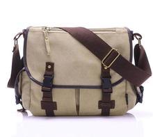 High Quality Canvas Bag Men's solid cover zipper casual shoulder school bags Male crossbody Bolsa Masculina Men Messenger Bags 3 стоимость