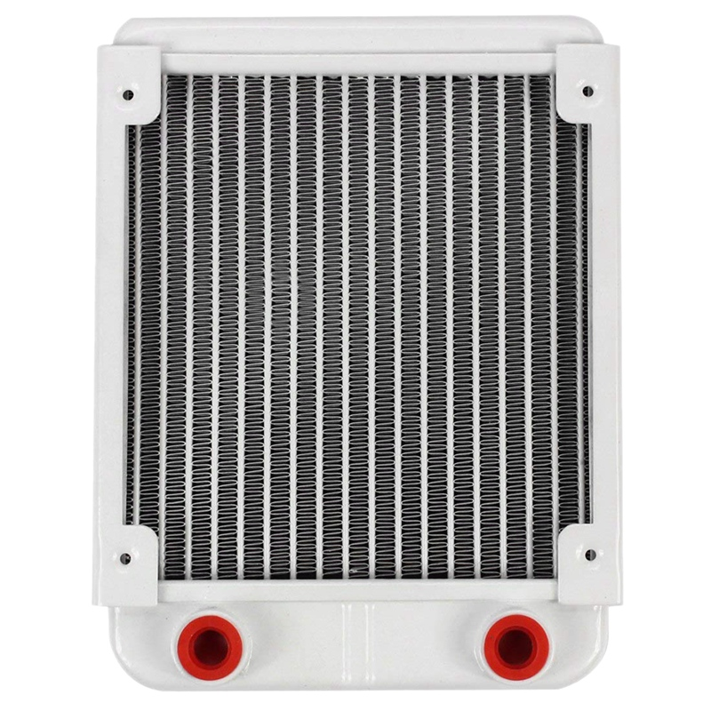 Aluminum Water Cooling 120mm Radiator CPU Cooler For 120mm Fan G1/4 Heat Sink Exchanger Cooled Computer