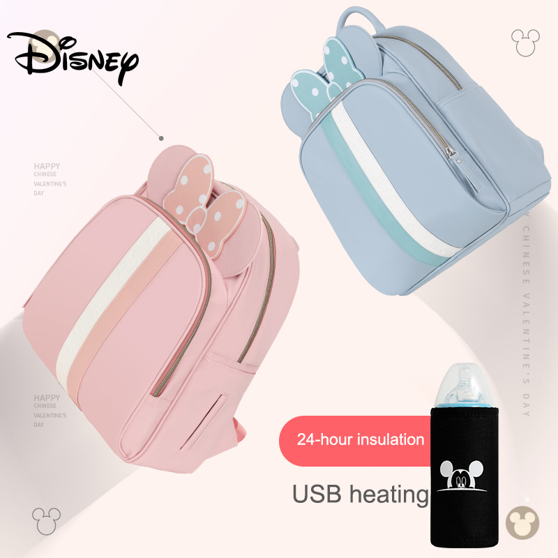 Disney Baby Diaper Bag Backpack For Mummy Maternity Large Capacity Nappy Bag For Baby Care Multifunctional Baby Stroller Bag New