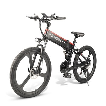 LO26 Moped Electric Bike Smart Folding Bike E-bike EU plug