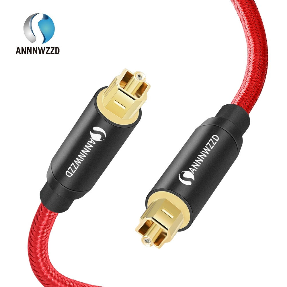 Digital Optical Audio Cable Toslink SPDIF Coaxial Cable for Amplifiers Blu-ray Player Xbox 360 Soundbar Fiber Cable