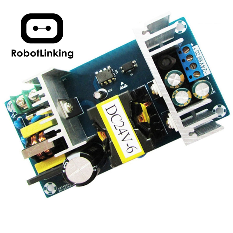 10PCS/LOT 2017 Best Sale AC DC Power Supply Module AC 100 240V to DC 24V 9A Switching Power Supply Board-in Integrated Circuits from Electronic Components & Supplies    1