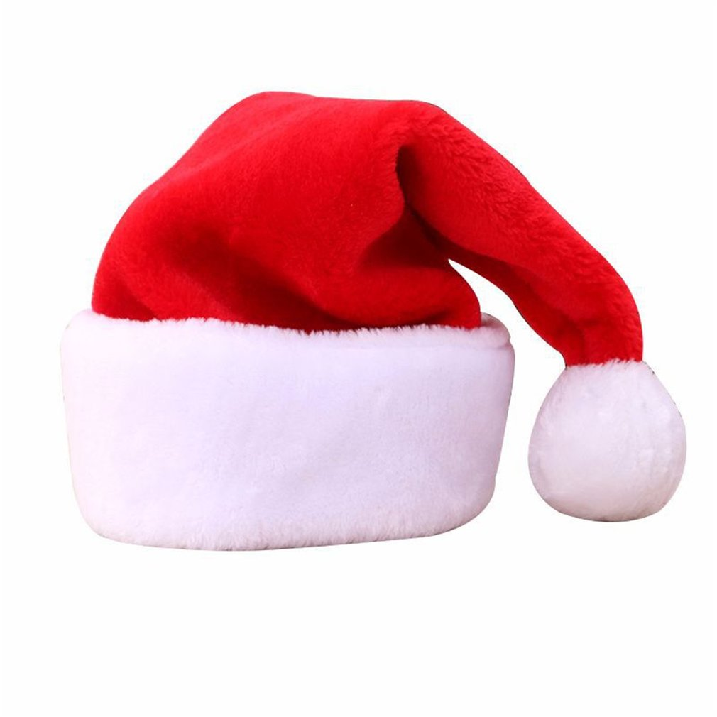 Comfortable Children Adult Christmas Hat Lovely Cute Charms Hat Cap For Christmas Party Props Christmas Ornaments