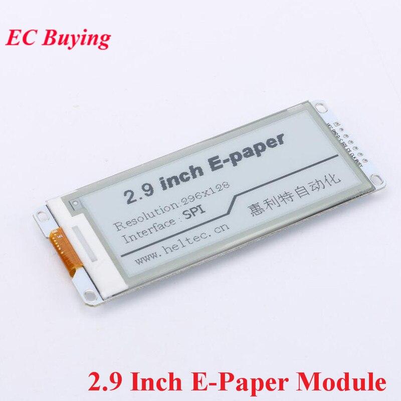 2.9 Cal moduł e-papieru moduł wyświetlacza e-ink dla Arduino 2.90