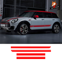 1 Set Decals Wraps Body Stickers Vinyl Car Styling Side Stripes Hood Roof Sticker for Mini Cooper Countryman Clubman