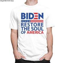 Мужские демократов biden футболка с короткими рукавами из хлопка