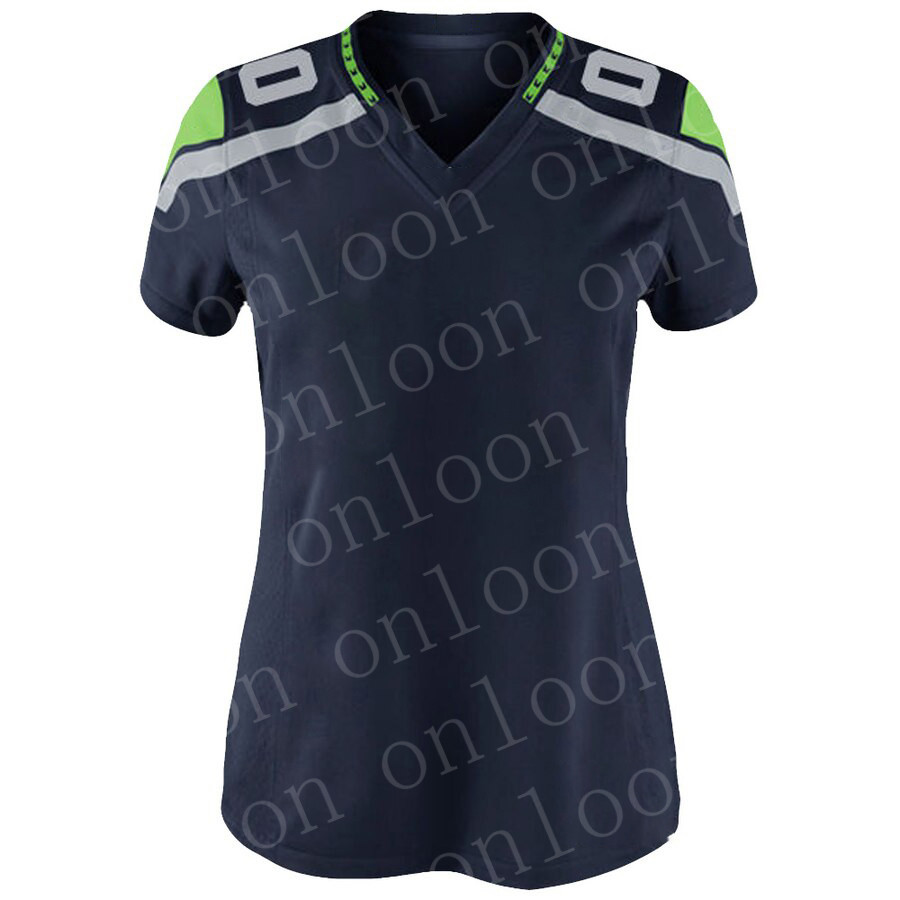 Womens 2020 New American Football Seattle Sport Fans Wear  Russell Wilson Dk Metcalf Tyler Lockett Bobby Wagner Lynch Jerseys