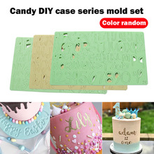 Alphabet Mold For Cake Decorating Tools Fondant Cake Letters Mold Baking Tools Cake Embosser Stamp Mold Baking Supplies