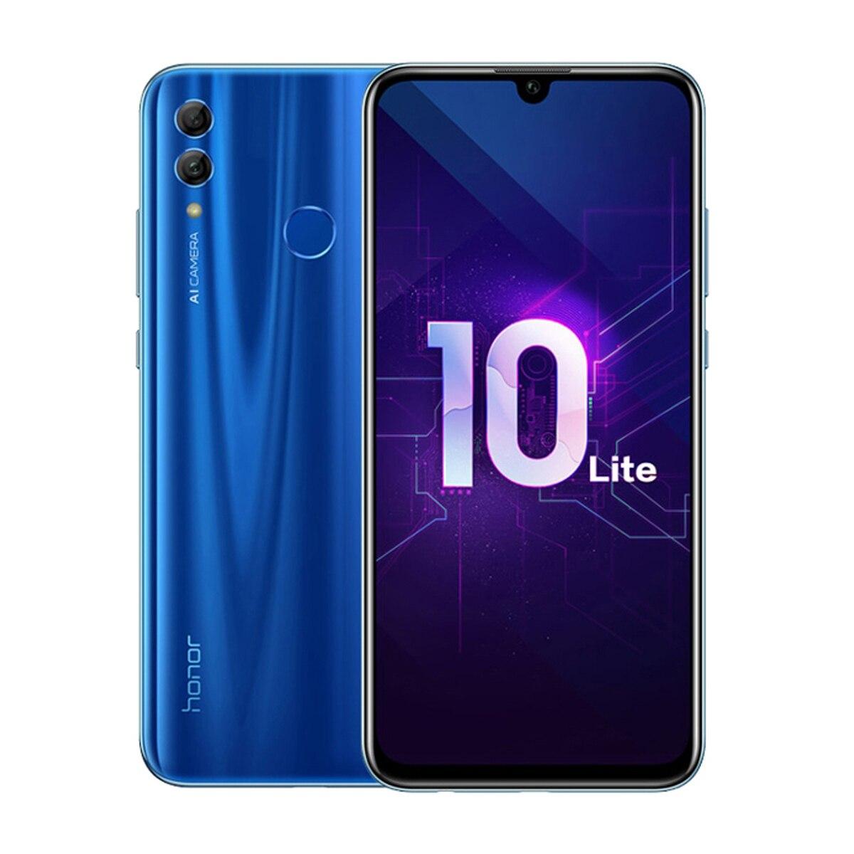 هاتف Huawei Honor 10 Lite الأصلي الإصدار العالمي هاتف ذكي 3GB 128GB 24MP AI كاميرا مزدوجة شاشة 6.2 بوصة 3400mAh Google Play OTA|الهواتف المحمولة| - AliExpress