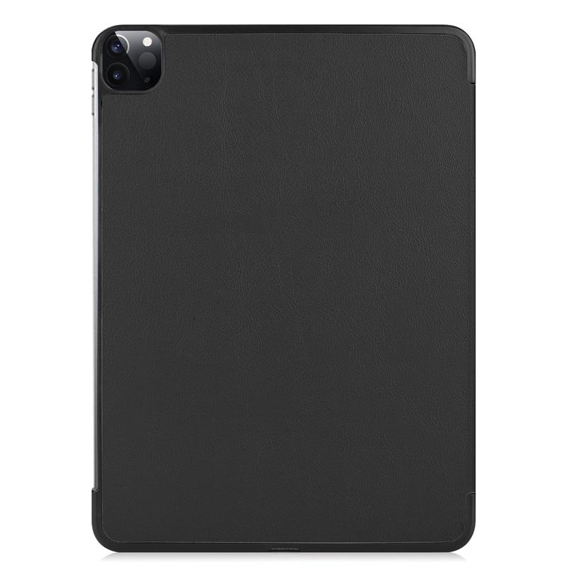 Folding Stand Hard Pro A2461 2018 Funda iPad 12.9 PU PC Leather 2021 Case for Case Smart Pro 2021 12 Cover 2020 Back 9 iPad For