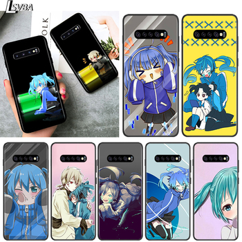 Black TPU Soft Cover Enom Takane for Samsung Galaxy S20 Ultra S10 S10e FE 5G S9 S8 S7 S6 Edge Plus Lite Phone Case image