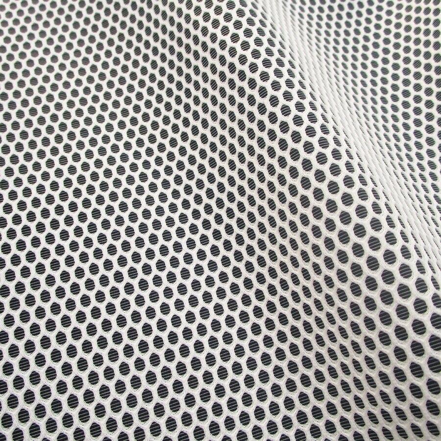 1Yard French Classic Honeycomb Mint Mesh Fabric Fashion Show High Quality DIY Apparel Sewing White Net Cloth Tissu Free Shipping