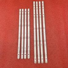 Nuovo 5set = 40pcs striscia di retroilluminazione a LED per LG 49UF640 49UH610A 49UF640V 49LF510V NC490DUE SADP2 LGE_WICOP_49inch_UHD/FHD_REV05_B UN