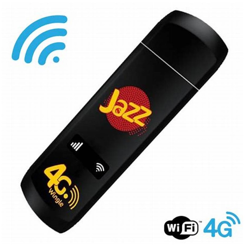 Unlocked Jazz Wingle WiFi Hotspot 150Mbps LTE 4G 3G USB Modem