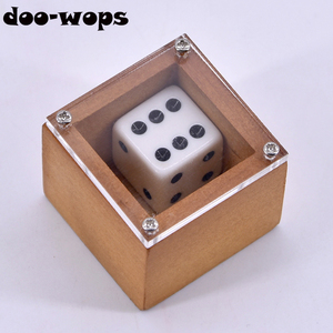 Магические фокусы Badland Bob (Wood), реквизит для сценической иллюзии в виде цифр в горошек, забавная классическая игрушка