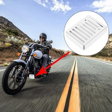 Motorcycle Blade Polished Stainless Rectifier Grill Guard Protector for Kawasaki Vulcan 900 VN900 2006 - 2020(China)