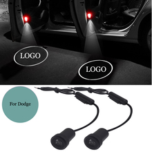 купить 3D Ghsot Welcome Logo Projector Light For Dodge Ram 1500 Joury Caliber Durango Caravan Interior Car Lighting LED Car Door Light дешево