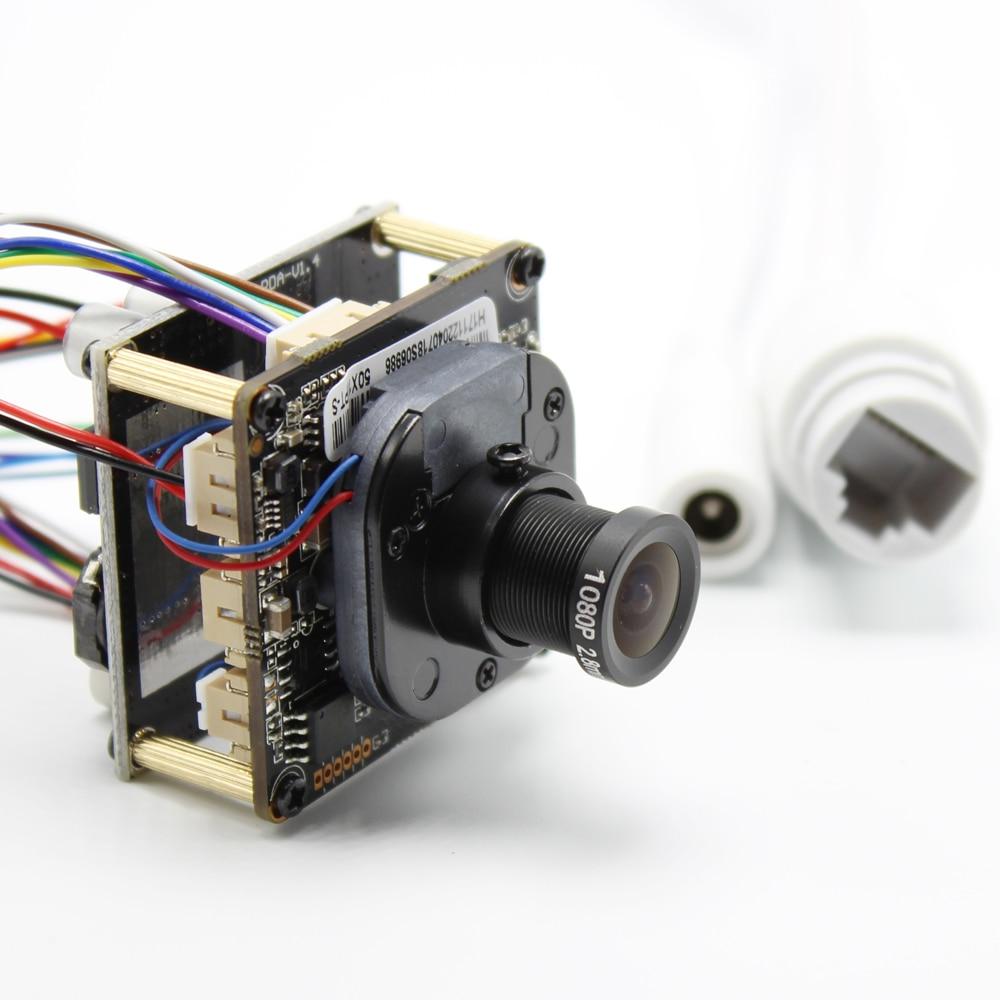 3mp h.265 poe câmera ip visão ampla 2.8mm lente cctv poe câmera ip placa do módulo pcb 1080p onvif h264 móvel onvif frete grátis
