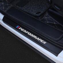4 шт. автомобиль порога двери защитные двери Наклейка для порога аксессуары для BMW E84 E83 E70 F15 E71 F16 E81 E87 F20 E90 E91 E93 F30 E60