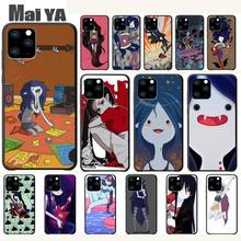 цена Maiya Adventure Time Marceline Luxury Phone Case Coque For Iphone 5s Se 6 6s 7 8 Plus X Xs Max Xr 11 Pro Max Cases Fundas онлайн в 2017 году