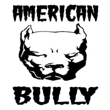 Car Sticker American Bully Dog Fashion DecorAutomobiles Motorcycles Exterior Accessories Reflective Vinyl Decals,14cm*12cm недорого
