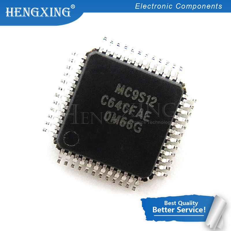10 pcs/lot MC9S12C64CFAE MC9S12C64 9S12C64 LQFP-48 En Stock