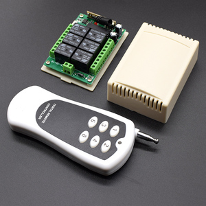 Image 4 - DC 12V 6 Channel Relay Module Wireless RF 433MHz Remote Control Switch Transmitter + Receiver Board