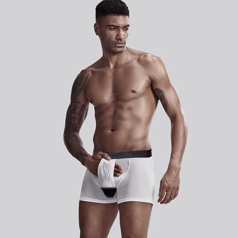 2020 Brand Men's Sexy Underpants Men Boxers Cotton Gay Man Underwear Breathable Boxershorts Slip Hombre Calzoncillo Hombre AD321