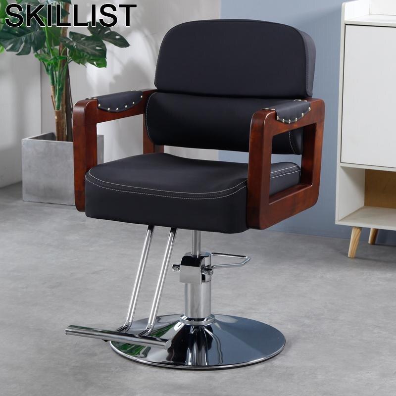 Furniture Hair Barbero Makeup Barberia Barbeiro Mueble De Salon Stuhl Cadeira Barbearia Barbershop Silla Shop Barber Chair
