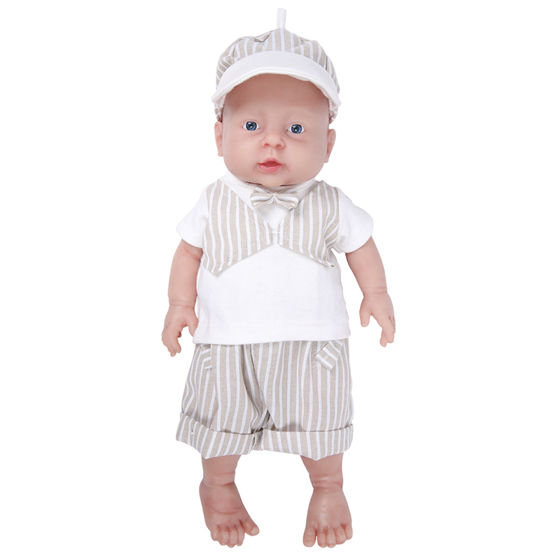 IVITA WB1503 41cm (16inch) 2kg Silicone Reborn Baby Dolls Eyes Opened Alive Realistic Newborn Boy Babies Kids Toys for Girls-in Dolls from Toys & Hobbies    1