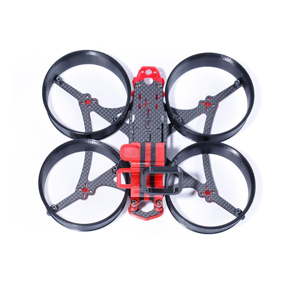 MegaBee V2 3 بوصة FPV نعيق طقم إطارات مع GoPro 7 TPU جبل ل FPV RC سباق drone-في قطع غيار وملحقات من الألعاب والهوايات على  مجموعة 2