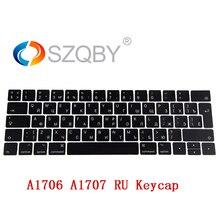 Genuine Key Cap for MacBook Pro Retina 13″ 15″ A1706 A1707 Russian RU Keyboard Keys Keycaps Late 2016 Mid 2017