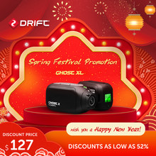 Original Drift Action Kamera Sport Cam Ghost X Plus MC 1080P Motorrad Mountainbike Fahrrad lange lebensdauer batterie Helm cam WiFi(China)