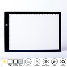 A4 LED Image Tablet Drawing Digital image Pad Type C LED Drawing Tablet Electronic Art Painting with Stand