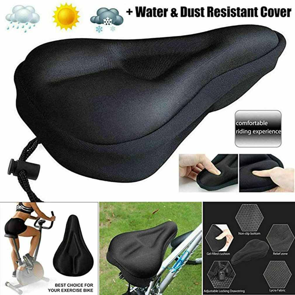 Outdoor Road Mountain Bike Bicycle Cycling Comfort Saddle Cushion Pad Seat Hot