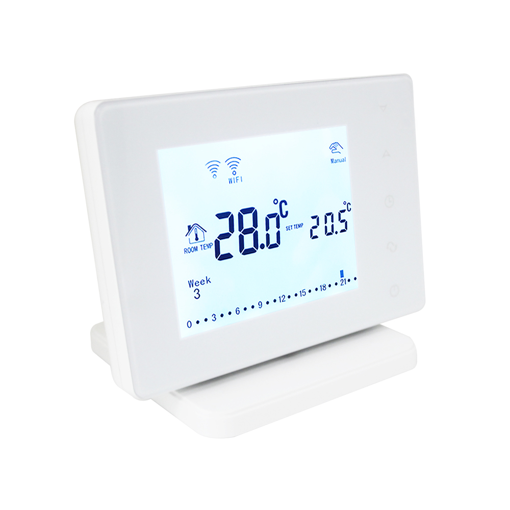 Image 3 - Beok BOT306RF WIFI  Wireless Thermostat for Gas Boiler Smart Home Temperature Controller Work with Google Home & Alexa-in Temperature Instruments from Tools