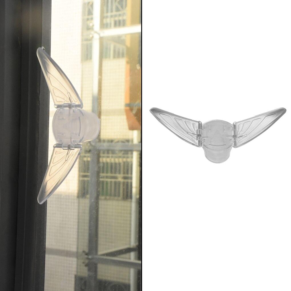 Baby Safety Lock For Sliding Door Window Children Protection Lock Drawer Cabinet Door Wardrobe Anti-pinch Wings Kids Safety Lock