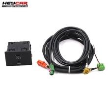 MIB 2 CarPlay MDI USB AUX presa pulsante interruttore per Audi A3 8V
