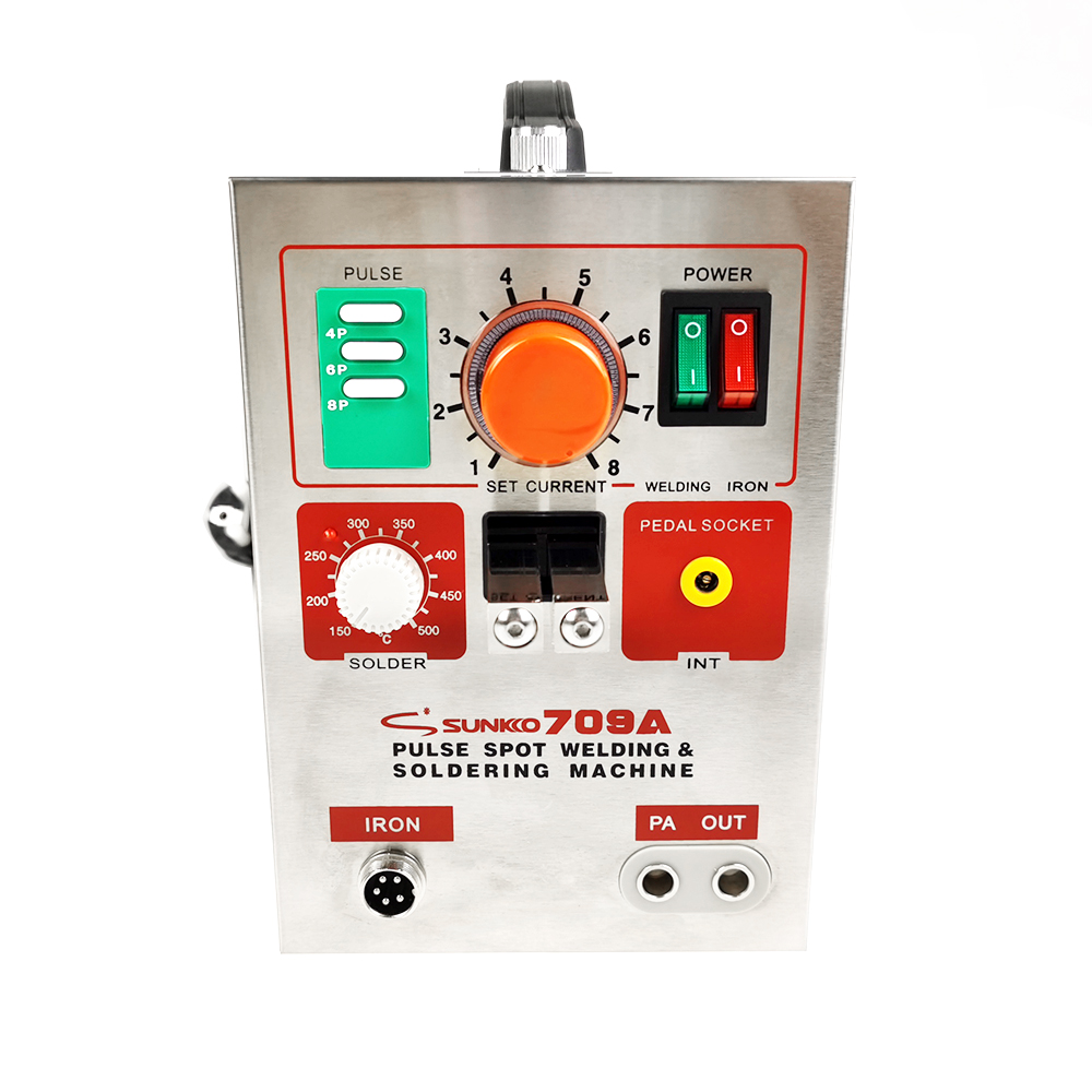 3.2KW SUNKKO 709A Battery Spot Welder With HB-70B Welder Pen For 18650 WELDING STATION Spot Welding Machine 220V /110V S709a image