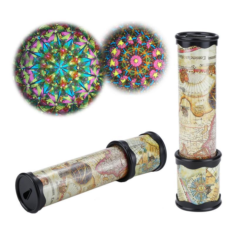 Classic Toys Kaleidoscope Rotating Magic Colorful World Toy Scalable Rotating Adjustable Kaleidoscope Toys For Child TXTB1