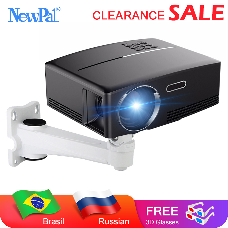 Mini Projector Home Theater Projector Android Wifi Beamer 3D HD LED Proyector with HDMI USB VGA AV Port Clearance Video TV-in LCD Projectors from Consumer Electronics